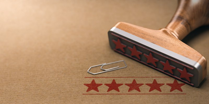 ratings help place you in search engines
